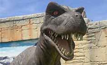 """Dinópolis inaugura la atracción """"Terra Colossus"""""""
