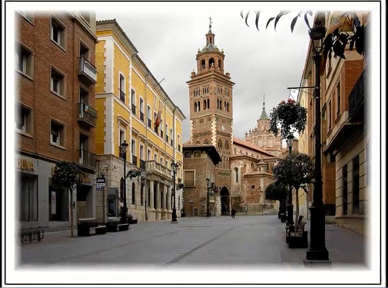 Video imágenes en color de Teruel.