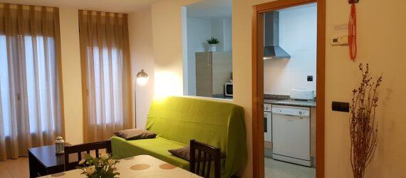 El salón de otro apartamento tipo Herrería