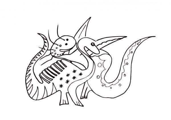 caratula dinosaurio 16